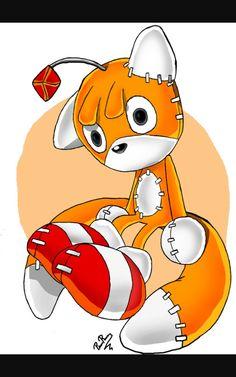 Tails Doll by pridark on DeviantArt Shadow The Hedgehog, Sonic The Hedgehog, Sonic Fan Characters, Disney Characters, Tails Doll, Sonic Heroes, Sonic Fan Art, Perler Bead Art, Comic Covers