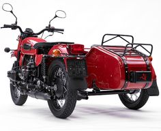 Im going to have one of these some day.  2009 Limited Edition Ural motorcycle. For the commie inside you. $12999