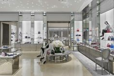 The Dior boutique in Singapore