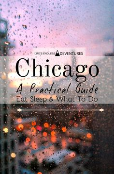 Tons to do in Chicag