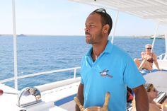Unsere Bootscrew: Kapitän Mohamed