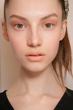 Elle - Beauty from the A/W 2015 Runway