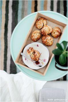 Cardamon buns. The best for breakfast.