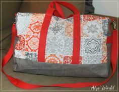 Sac Boston cousu par Alys' World