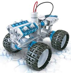 OWI Salt Water Fuel Cell Monster Truck Kit. Salt Water Fuel Cell kit gives children a chance to learn about new forms of clean energy, while building and powering their very own toy.