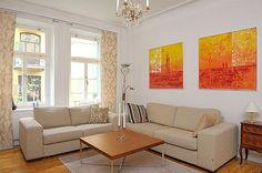Three-bedroom apartment In Stockholm