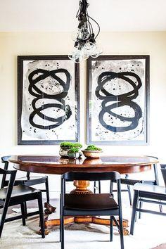 Овальные столы для кухни: тонкости выбора и 80+ комфортных моделей для современного интерьера http://happymodern.ru/ovalnye-stoly-dlya-kuxni/ Деревянный овальный стол в интерьере кухни