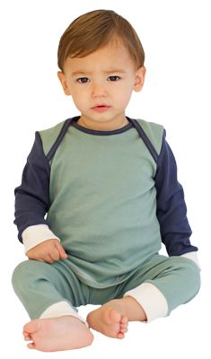 Organic Cotton Knit Pajama Set | Castleware: Organic Fabric Baby Clothes and Blankets