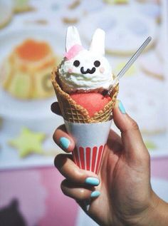 Cute ice cream creations