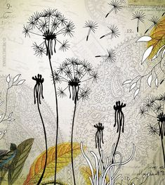 Find Deny Designs Iveta Abolina Little Dandelion Fleece Throw Blanket, 50 x 60 online. Shop the latest collection of Deny Designs Iveta Abolina Little Dandelion Fleece Throw Blanket, 50 x 60 from the popular stores - all in one Illustration Photo, Dandelion Art, Motifs Animal, Motif Floral, Floral Design, Floral Illustrations, Flower Art, Giclee Print, Modern Art