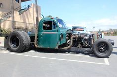 Cummins rat rod Call Motors on the Move for all of your vehicle shipping needs! Rat Rods, Rat Rod Cars, Cool Trucks, Big Trucks, Cool Cars, Diesel Rat Rod, Diesel Trucks, Rat Rod Pickup, Pickup Trucks