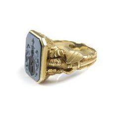 Lux Signet ring men