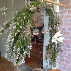 Little Wren Flowers | arch of native tea tree, orchid and lavender