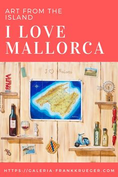 After a long round trip on Mallorca, the souvenirs are pinned on a wooden wall in a small chamber at home. This keeps memories of a great time alive! Are you a fan of Mallorca too? Then this art work is ideal to keep your memories of the beautiful island alive Bull Painting, Mallorca Island, Red Lightning, Clay Pipes, Best Oils, Balearic Islands, Round Trip, Wooden Walls, Beautiful Islands