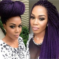 Check her out on YouTube.i love her Senegalese twist.She and her sister do them together,really cool.