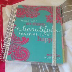 #ECNewYou Journal Paper, Erin Condren, Life Planner, Fans, Inspire, Creative, Pretty, Diary Book