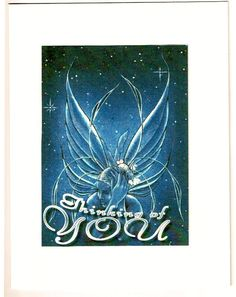 Fairy Thinking of You greeting Card Free by 12StepUnityGal on Etsy, $5.00