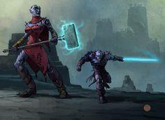 Dungeons & Dragons by Francis Tsai
