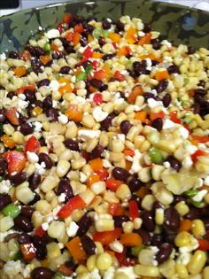 """""""Crack Dip""""- because you can't stop eating it! 1 bag of frozen corn- thawed 1 orange or red No Cook Appetizers, Appetizer Dips, Appetizer Recipes, Dinner Recipes, New Recipes, Cooking Recipes, Favorite Recipes, Healthy Recipes, Recipies"""