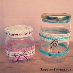 Handmade jars <3