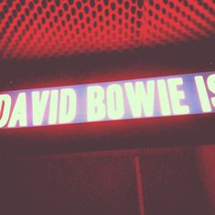 David Bowie // Is