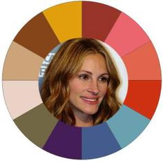 Julia Roberts has Autumn coloring #Autumn season  #Julia Roberts http://www.style-yourself-confident.com/seasonal-color-analysis-autumn.html