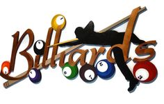 Draw Shot Billiards Wall Sculpture, handmade, wood wall decor, pool art, game room, 8 ball sculpture, Billiards wall hanging by Alisa 42x18 by DivaArt69, $223.99 USD