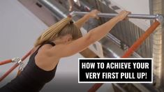 First pull up and how to achieve it.