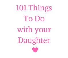 101 Things to Do wit