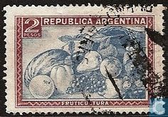 Argentina  ARG  - Fruit Growing 1945 Sello Postal 2850840e6409