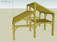 Passive solar timber frame small home or cabin
