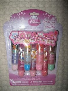 Disney Princess of The Week 7 Fruity Lip Gloss Tubes de Disney-Brand New en Pkg - Fotos Sola Makeup Kit For Kids, Kids Makeup, Makeup Bags, Gloss Labial, Little Princess, Disney Princess, Lip Gloss Tubes, Disney Brands, Birthday Wishlist