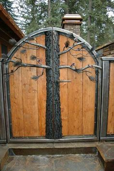 A tree gate cool huh