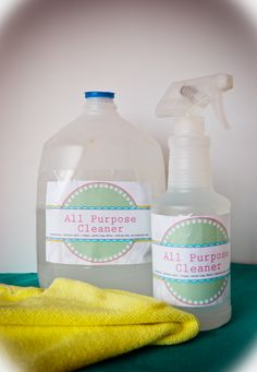 DIY Natural All Purpose Cleaner by amybaylis #DIY #Cleaner
