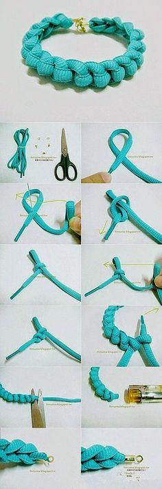 how to create bracelet