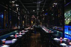 Hakkasan Hanway Place London – A top starred chinese restaurant Japanese Restaurant Interior, Chinese Restaurant, Restaurant Deals, Restaurant Lounge, Learn Cantonese, Cantonese Food, Christian Liaigre, Mykonos Town, Restaurant Lighting