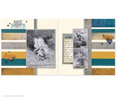 I love the new CTMH paper pack. Check out the scrapbook layouts I shared in this post to get some good ideas. Products are available on my website to purchase! Paper Bag Scrapbook, School Scrapbook, Birthday Scrapbook, Wedding Scrapbook, Scrapbook Cards, Scrapbook Examples, Scrapbook Page Layouts, Scrapbooking Ideas, How To Make A Paper Bag