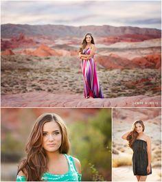 Beautiful Desert Senior Portraits {Las Vegas Senior Photographer}