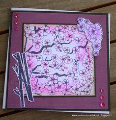 Fiskarettesien tekemää : kortti tytölle » Fiskarettes FI