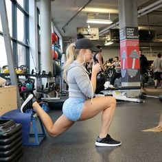 Katie Crewe. Lower body weighted strength workout