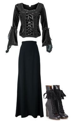 """""""Untitled #341"""" by peterpan-lover-jdb on Polyvore featuring Alexander McQueen and Chloé"""