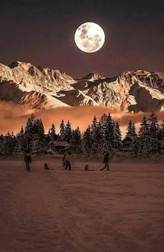 super Ideas for photography winter moonlight Moon Pictures, Nature Pictures, Pretty Pictures, Beautiful Moon, Beautiful World, Beautiful Places, Beautiful Days, Beautiful Scenery, Moon Photography