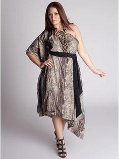 Diana Plus Size Infinity Dress in Multi - Sale Rack by IGIGI