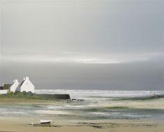 Boco – Galerie Dominique C Landscape Sketch, Acrylic Painting Techniques, Ship Art, Beach Art, Acrylic Art, Watercolour Painting, Painting Inspiration, Laporte, Artist