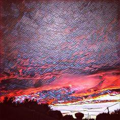 Skies above #Dallas series   🌞☀️🌤⛅️⛅️🌤☀️🌤⛅️🌤☀️🌤⛅️🌤☀️🌞  #summer #appreciation #glitch #imagebending #visualremix on #stainedglass #pastels