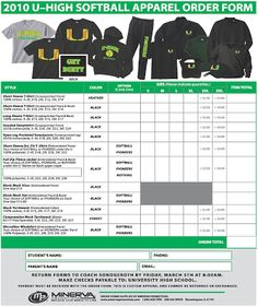 Order Form  Embroidery    Order Form Stationary