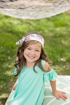 Ryleigh Rue Clothing by MVB - Girls White Flower Headband Wrap, $14.00 (http://www.ryleighrueclothing.com/new/girls-white-flower-headband-wrap.html/)