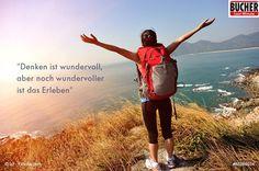 Einfach mal machen! #Abenteuer #Urlaub #bucherreisen