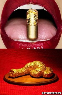 Pills that turns your poop gold