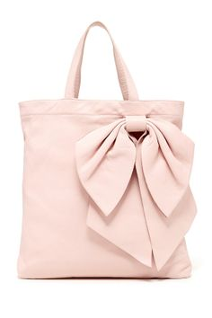 Pretty leather bow bag.